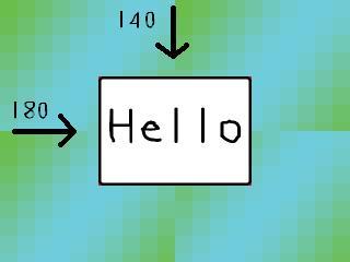 Пример системы координат